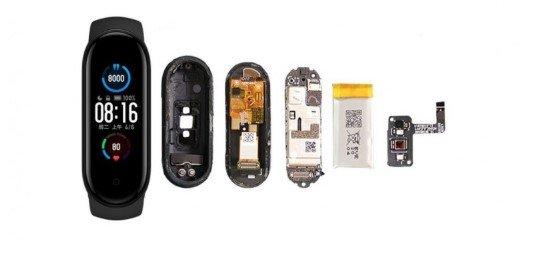 Полная разборка смарт браслета Xiaomi Mi Smart Band 5