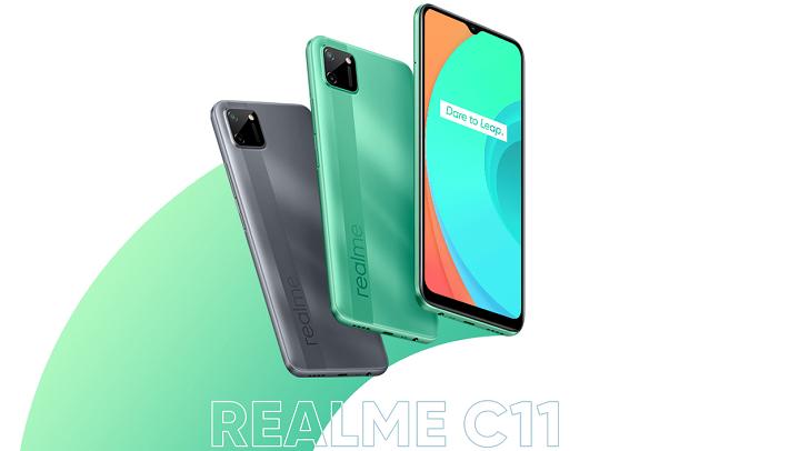 Бюджетный смартфон Realme C11 представлен в Украине