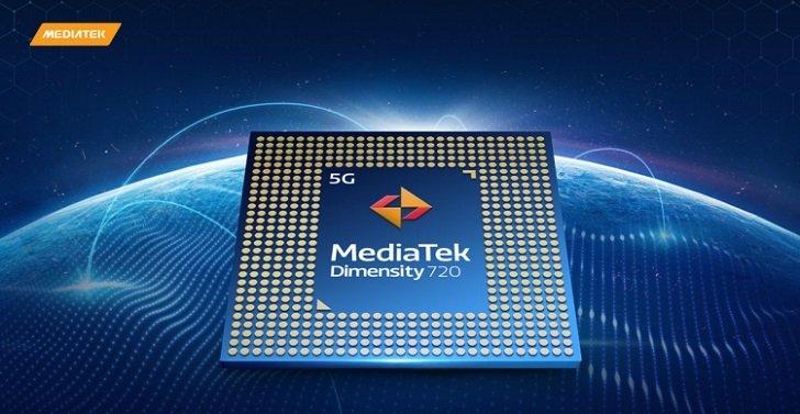 Анонсирован мобильный процессор MeidaTek Dimensity 720 5G