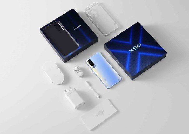 В Украине начались продажи vivo X50 – vivo X50 Pro на подходе