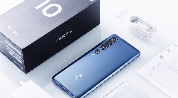 Xiaomi Mi 10 Pro теперь поддерживает одновременную съемку на две камеры