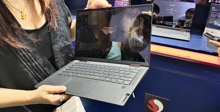 Lenovo представила первый в мире ноутбук с поддержкой 5G
