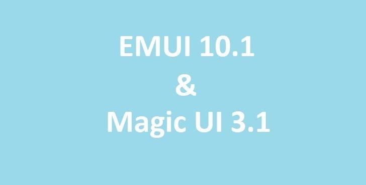 Huawei и Honor выпустили новую прошивку EMUI 10.1 / Magic UI 3.1 на 8 смартфонов