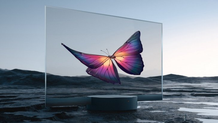 Xiaomi представила прозрачный телевизор за 7200 долларов