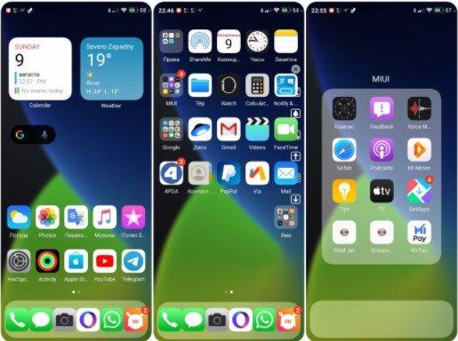 Новая тема iOS 14 Beta pro для MIUI 11 удивила всех фанов