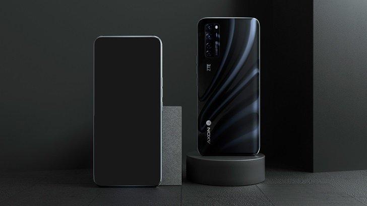 ZTE показала первый в мире смартфон с подэкранной камерой
