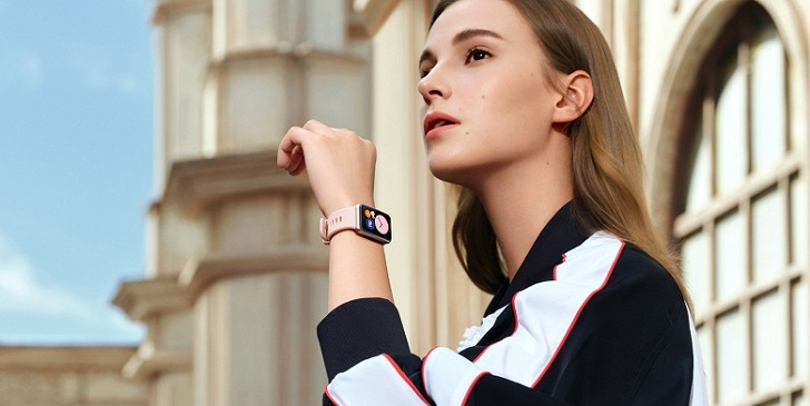 Анонсированы умные часы Huawei Watch Fit