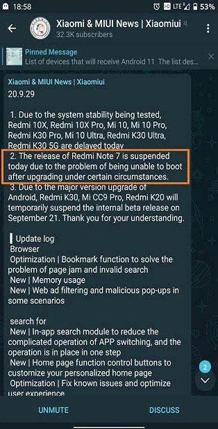 Очередные проблемы с MIUI 12 для Xiaomi Redmi Note 7