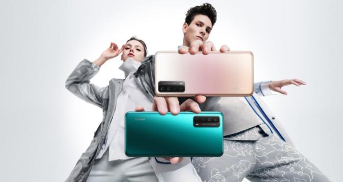 Смартфон Huawei P smart 2021, быстрой зарядкой и беспроводными наушниками в подарок уже в Украине