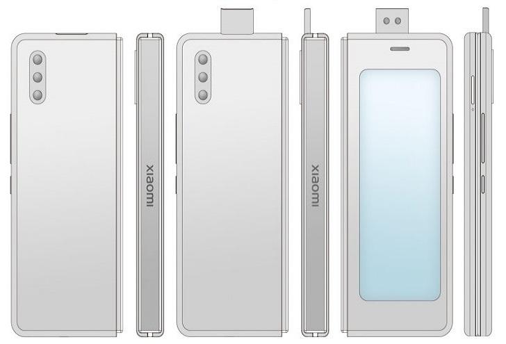 Xiaomi готовит складной смартфон с выдвижной камерой