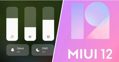 MIUI 12 приносит новое меню питания и центр управления громкостью