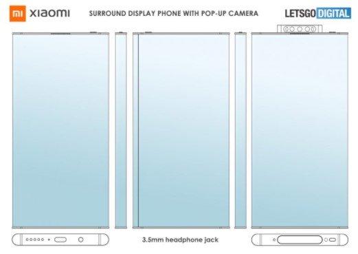 Xiaomi разрабатывает новый смартфон с 360˚ объемным дисплеем