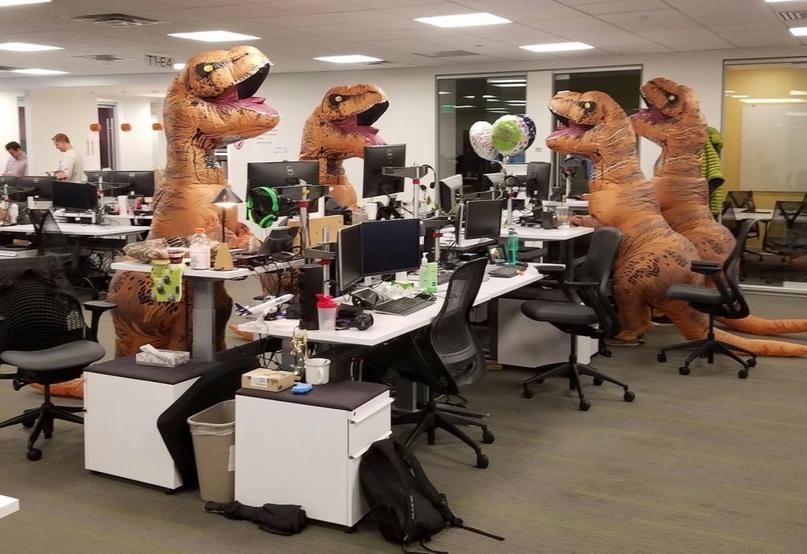 корпоратив в офисе