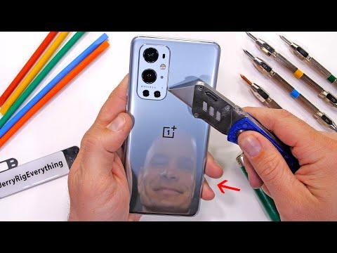 OnePlus 9 Pro испытали на прочность