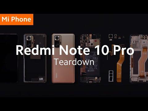Xiaomi Redmi Note 10 Pro разобрали на части