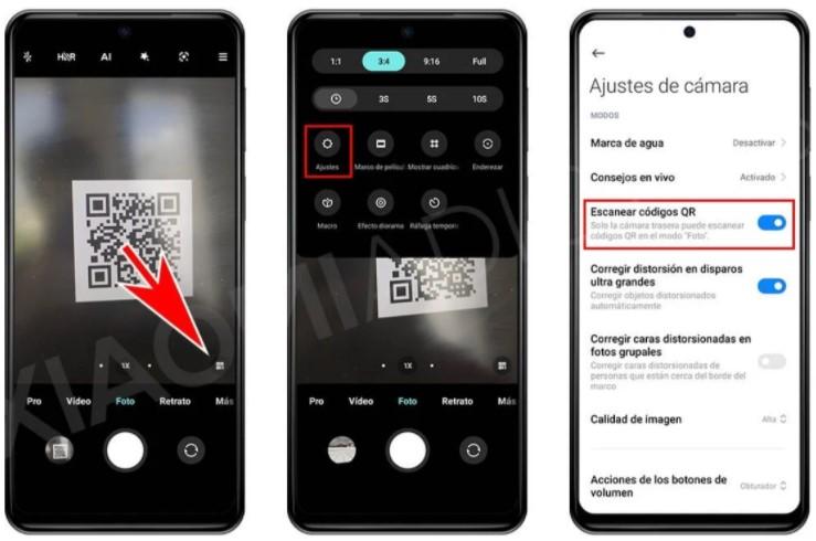 Как читать QR-коды с помощью камеры Xiaomi