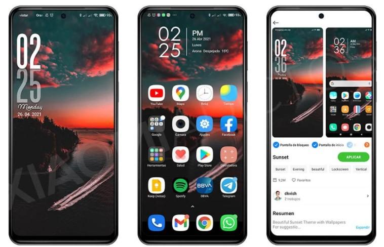 Измените экран блокировки Xiaomi благодаря новой теме