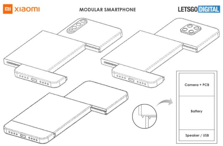 Xiaomi работает над смартфоном модульной конструкции