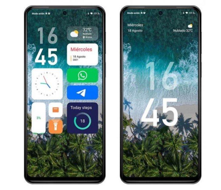 Появилась возможность скачать на смартфоны Xiaomi виджеты в стиле iOS 14